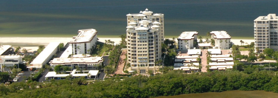 Orchid Beach Club Aerial